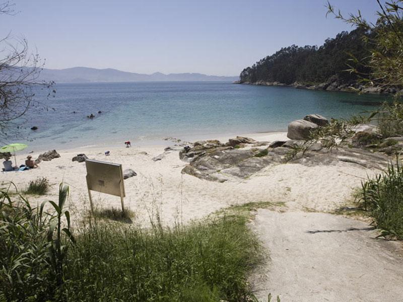 las mejores playas en rias baixas area agra