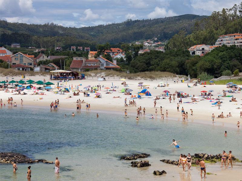 las mejores playas en rias baixas areas