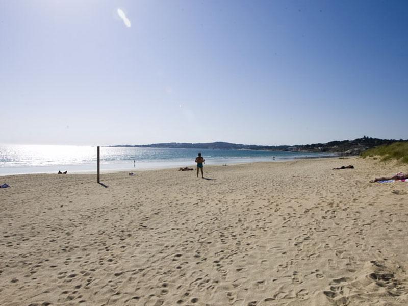 las mejores playas en rias baixas lanzada