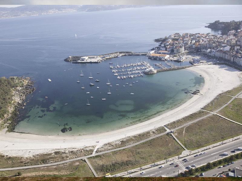las mejores playas en rias baixas portonovo