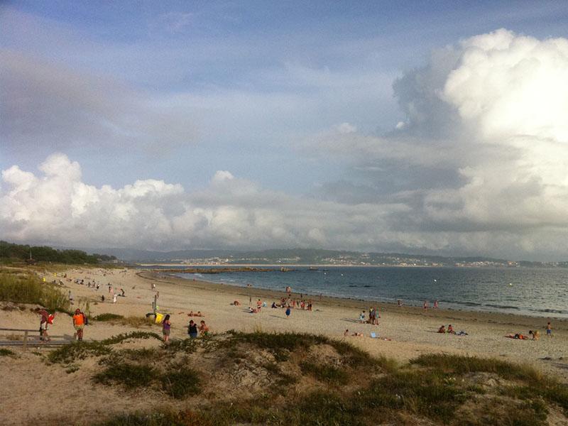 las mejores playas en rias baixas san vicente do ma